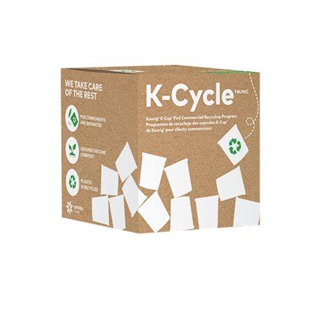 Boîte de programme de recyclage K-Cycle pour dosette K-Cup