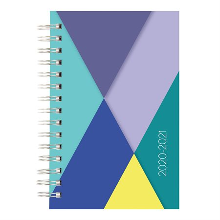 Geometric daily  /  monthly planner (2020-2021)
