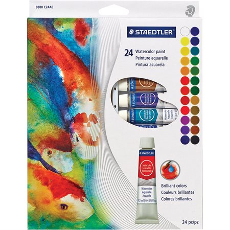 Tubes de peinture aquarelle
