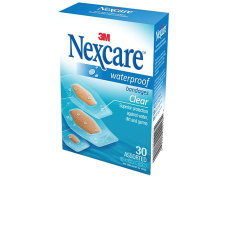 Pansements imperméables et transparents Nexcare™