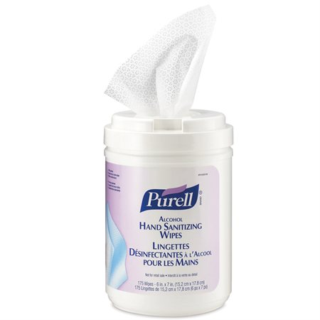 Lingettes désinfectantes pour les mains Purell®
