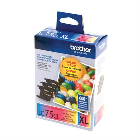 LC75 Ink Jet Cartridge Triple Pack