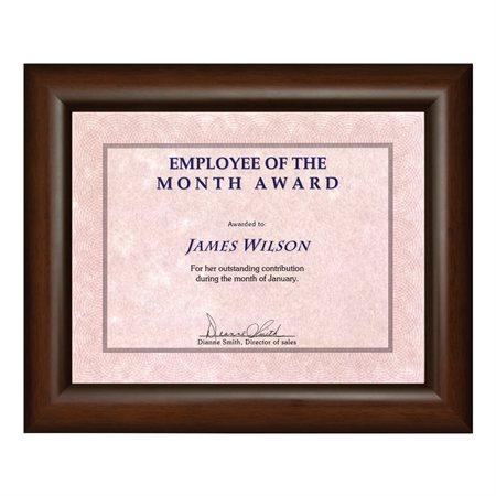 Milano Certificate Frame