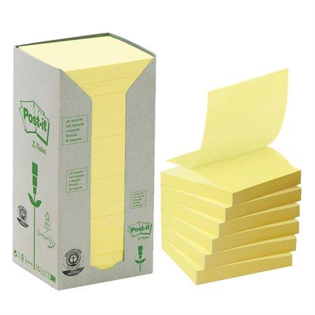 Feuillets éclairs recyclés Post-it®