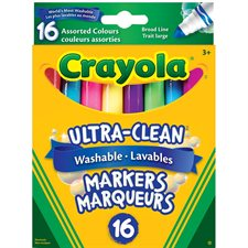Marqueurs lavables Ultra-Clean