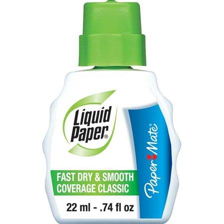 Liquide correcteur blanc
