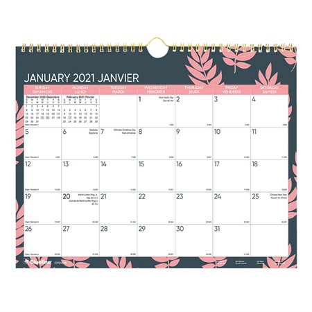 (2021) Leaf Wall Calendar
