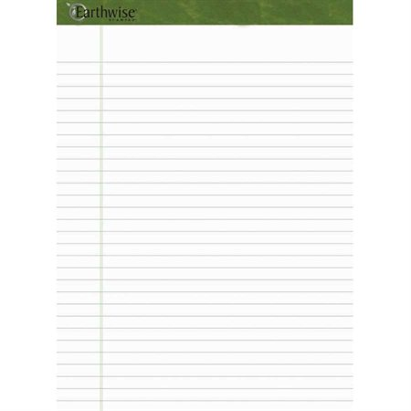 Earthwise™ Ampad™ Recycled Ruled Sheet Pad