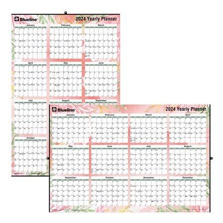 Annual Wall Calendar (2021)