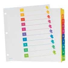 Super Rapidex™ Pre-Printed Dividers