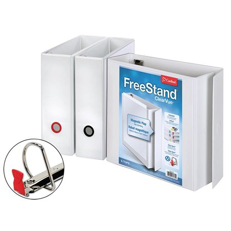 FreeStand™ Easy Open™ ClearVue™ Presentation Binder