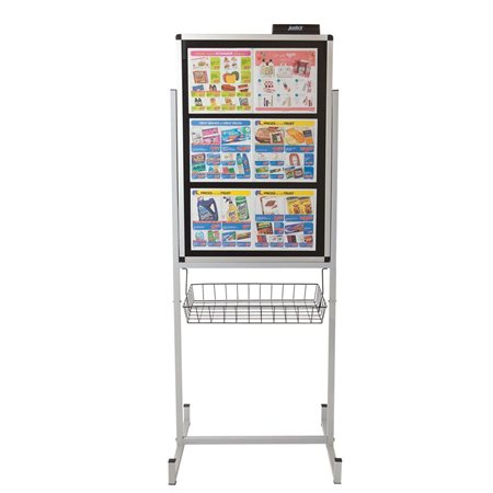 Electrostatic Promotional Stand