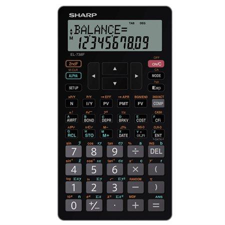 EL-738FC Financial and Scientific Calculator