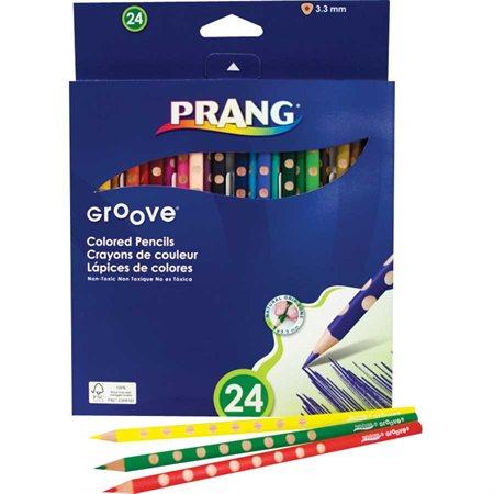 Crayons de couleur en bois Groove