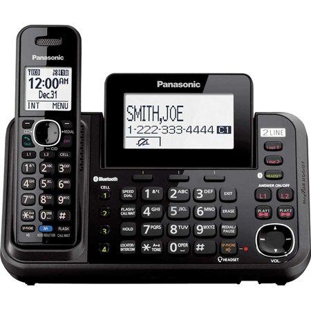 Téléphone sans fil à deux lignes KX-TG9541