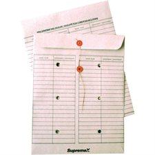Enveloppe réutilisable pour courrier interne