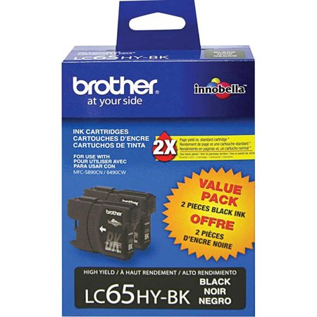 LC652PKS Ink Jet Cartridges Twin Pack