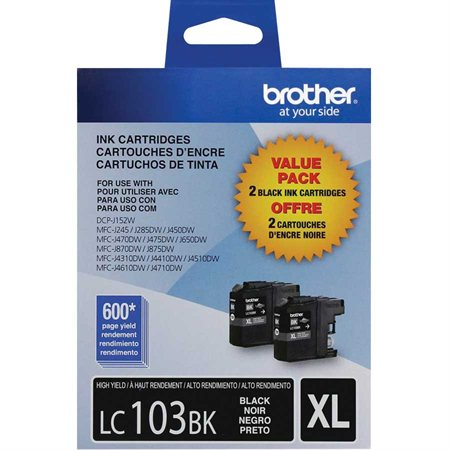 LC1032PKS Ink Jet Cartridges Twin Pack