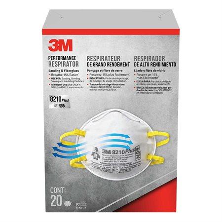 Masque respirateur filtrant 8210