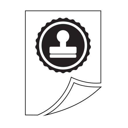 Épreuve imprimée pour timbre personnalisé