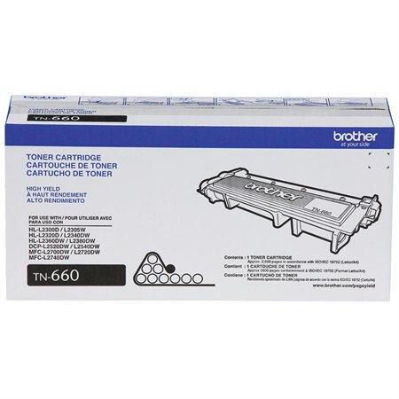TN660 High Yield Toner Cartridge
