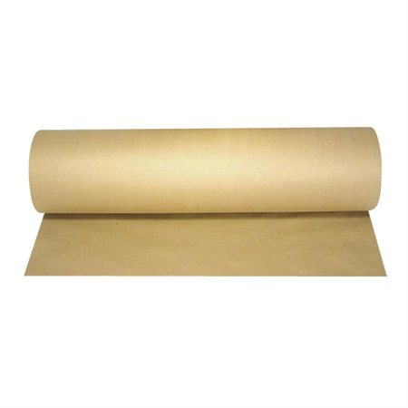 Papier d'emballage kraft brun