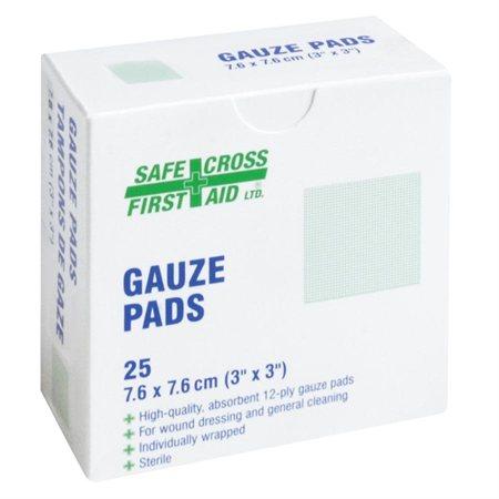 Rouleaux et tampons de gaze