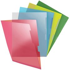Pochette transparente extra-robustes