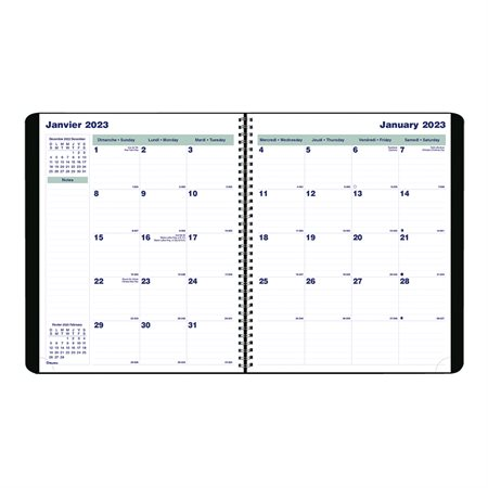 16-Month Monthly Diary (2020)