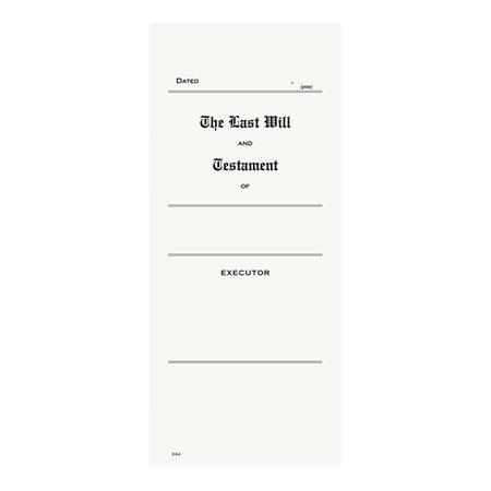 Enveloppe pour copie de testament