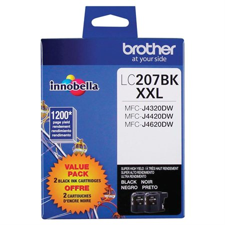 LC2072PKS Ink Jet Cartridges Twin Pack