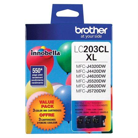 LC2033PKS Ink Jet Cartridges Tri-Pack