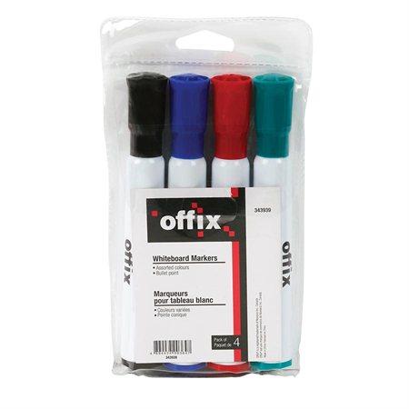 Ensemble de marqueur effaçable à sec pour tableau blanc Offix®