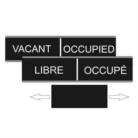 Plaque murale Libre / Occupé