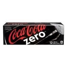 BREUVAGES COKE ZERO 355 ML 12 / CTN