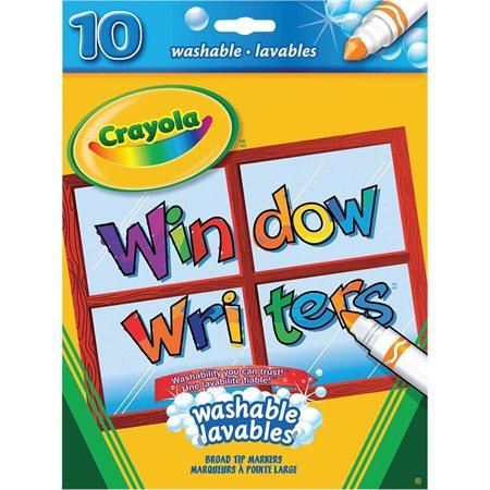 Marqueurs lavables pour fenêtre