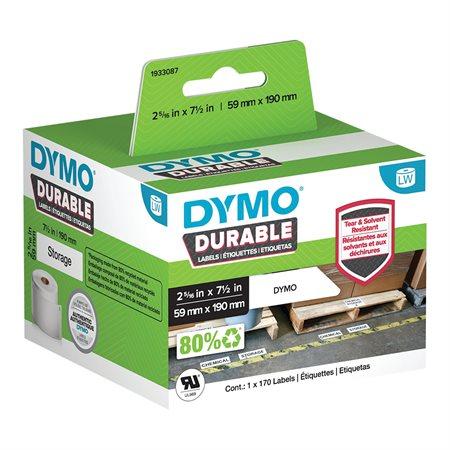 Étiquettes blanches durables pour imprimantes LabelWriter®
