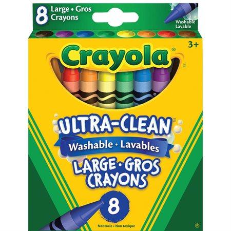 Crayons de cire lavables larges Ultra-Clean™