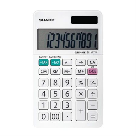 Calculatrice de poche EL-377W