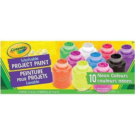 Peinture pour enfants lavable