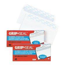 Enveloppe blanche Grip-Seal®