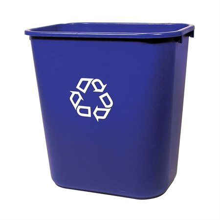 Deskside Recycling Wastebasket