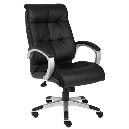 High-Back Executive Leather Armchair