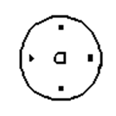 "4"" Round Plate"