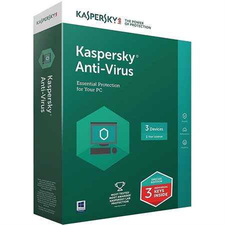 Kaspersky Anti-Virus Software 2018