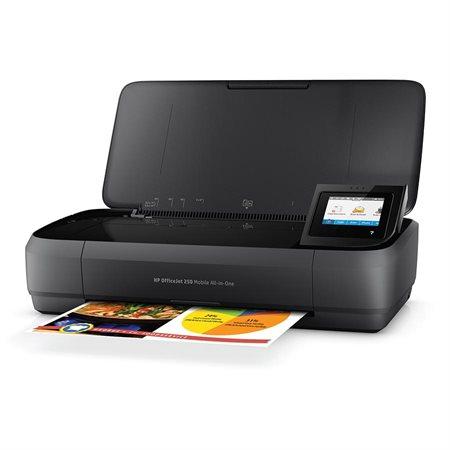 Imprimante portative jet d'encre multifonction couleur sans fil OfficeJet 250