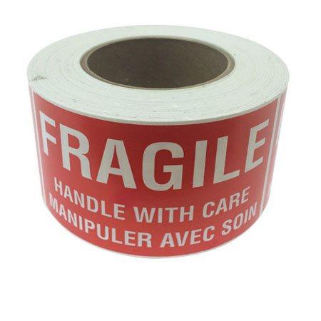 Étiquettes d'expédition Fragile - Manipuler avec soin
