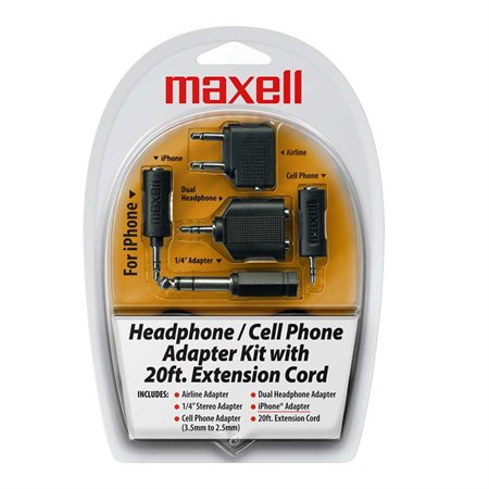 Headphone And Cell Adapter Kit
