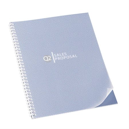 ClearView Frosted Presentation Cover