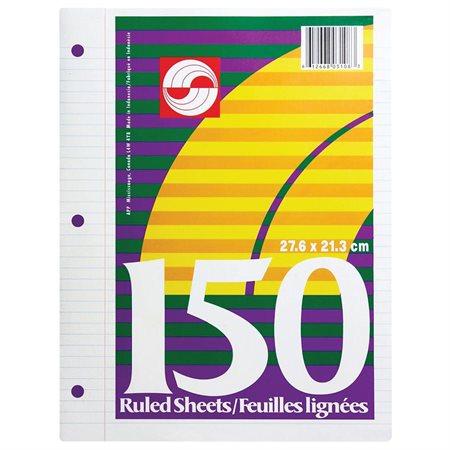 Ruled Loose Leaf Sheets